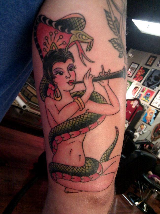 Sailor Jerry Snake Charmer